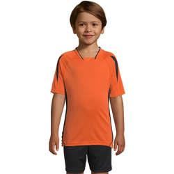 vaatteet Lapset Lyhythihainen t-paita Sols Maracana - CAMISETA NIÑO MANGA CORTA Naranja