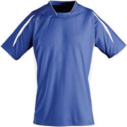 vaatteet Lapset Lyhythihainen t-paita Sols Maracana - CAMISETA NIÑO MANGA CORTA Azul