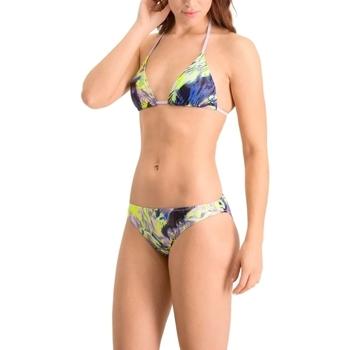 vaatteet Naiset Kaksiosainen uimapuku Puma All-Over-Print Triangle Monivärinen