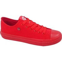 kengät Naiset Matalavartiset tennarit Lee Cooper LCWL2031046 Punainen