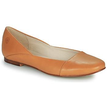 kengät Naiset Balleriinat Casual Attitude TOBALO Ruskea