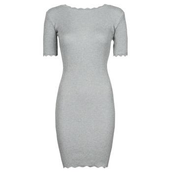 vaatteet Naiset Lyhyt mekko Yurban PAULINO Harmaa