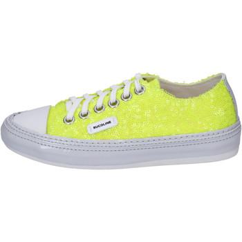 kengät Naiset Matalavartiset tennarit Rucoline BH401 Keltainen