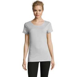 vaatteet Naiset Lyhythihainen t-paita Sols Martin camiseta de mujer Azul