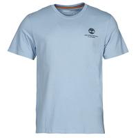 vaatteet Miehet Lyhythihainen t-paita Timberland CC ST TEE Sininen