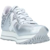 kengät Naiset Matalavartiset tennarit Munich 8810147 Silver