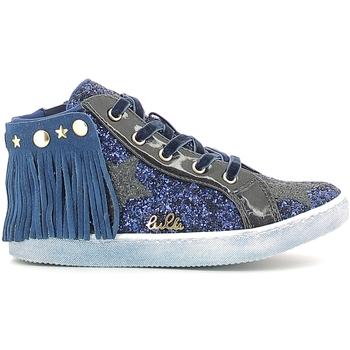 kengät Tytöt Korkeavartiset tennarit Lulu LS150014S Sininen