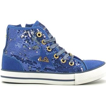kengät Tytöt Korkeavartiset tennarit Lulu LV010070T Sininen