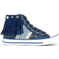 kengät Tytöt Korkeavartiset tennarit Lulu LV010060T Sininen