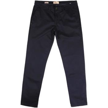 vaatteet Miehet Chino-housut / Porkkanahousut Gaudi 721BU25006 Sininen