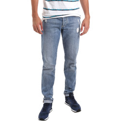 vaatteet Miehet Slim-farkut Sseinse PJE625SS Sininen