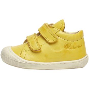 kengät Lapset Matalavartiset tennarit Naturino 2012904 16 Keltainen