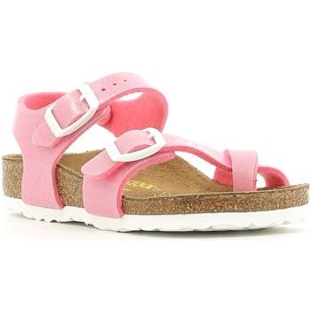kengät Tytöt Sandaalit ja avokkaat Birkenstock 371603 Vaaleanpunainen