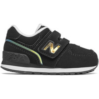 kengät Lapset Matalavartiset tennarit New Balance NBIV574MTK Musta