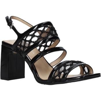 kengät Naiset Sandaalit ja avokkaat Apepazza S0MONDRIAN08/PAT Musta