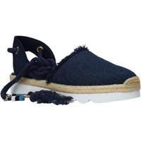 kengät Naiset Espadrillot Manila Grace S617DU Sininen