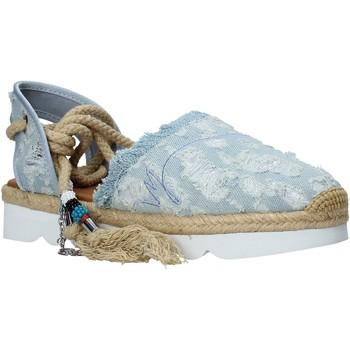 kengät Naiset Espadrillot Manila Grace S677DU Sininen
