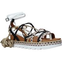 kengät Naiset Sandaalit ja avokkaat Manila Grace S620DU Musta