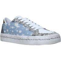 kengät Naiset Matalavartiset tennarit Manila Grace S642DU Sininen