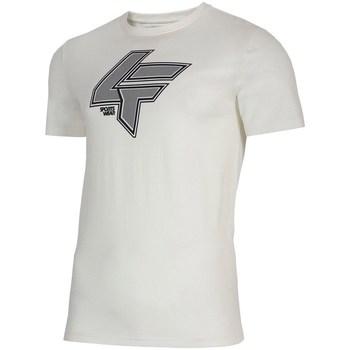 vaatteet Miehet Lyhythihainen t-paita 4F TSM010 Valkoiset