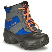 kengät Lapset Talvisaappaat Columbia CHILDRENS ROPE TOW Sininen / Oranssi