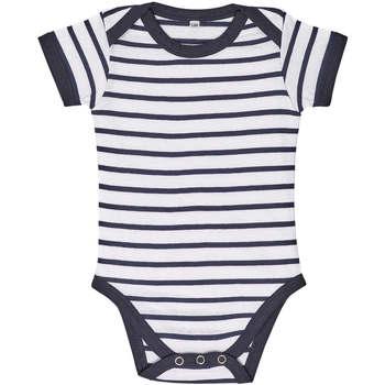 vaatteet Lapset Kokonaisuus Sols Body bebé a rayas Azul