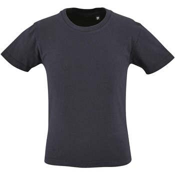 vaatteet Lapset Lyhythihainen t-paita Sols CAMISETA DE MANGA CORTA Azul