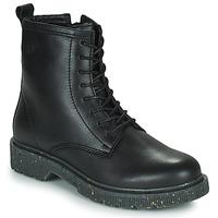kengät Naiset Bootsit Dream in Green PARBOL Musta