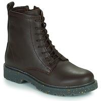 kengät Naiset Bootsit Dream in Green PARBOL Ruskea