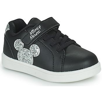 kengät Lapset Matalavartiset tennarit Disney MICKEY Musta