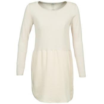 vaatteet Naiset Lyhyt mekko Only DANCER ECRU