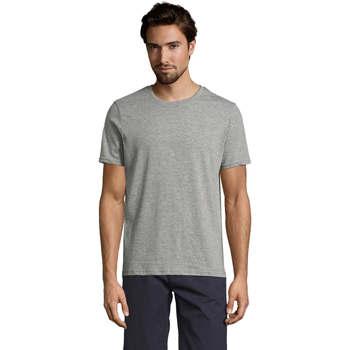 vaatteet Miehet Lyhythihainen t-paita Sols Mixed Men camiseta hombre Gris