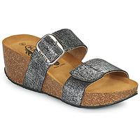 kengät Naiset Sandaalit Plakton SO ROCK Musta / Metallinen
