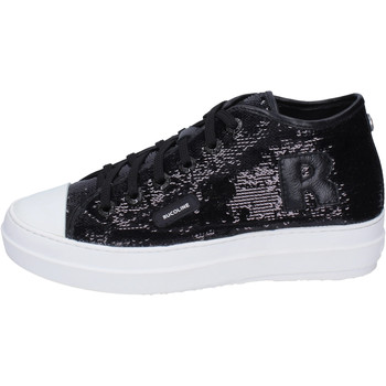 kengät Naiset Korkeavartiset tennarit Rucoline BH358 Musta