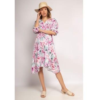 vaatteet Naiset Lyhyt mekko Fashion brands 9471-ROSE Vaaleanpunainen