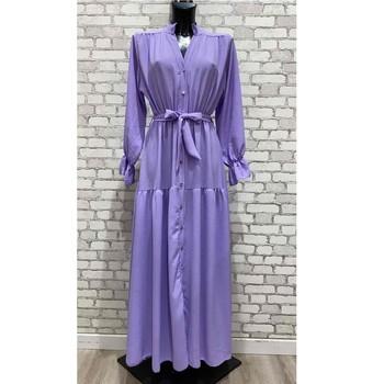 vaatteet Naiset Pitkä mekko Fashion brands 2155-LILAS Lila