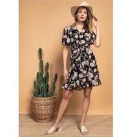 vaatteet Naiset Lyhyt mekko Fashion brands 2145A-NOIR Musta