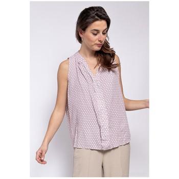 vaatteet Naiset Topit / Puserot Fashion brands TP25-PINK Vaaleanpunainen