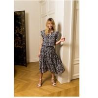 vaatteet Naiset Topit / Puserot Fashion brands CK08138-MARINE Laivastonsininen