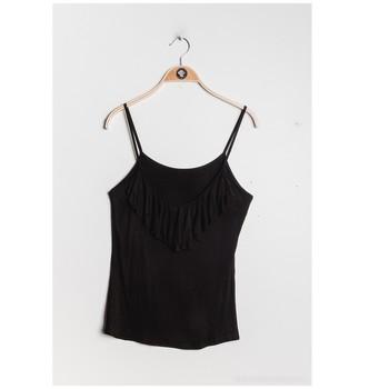 vaatteet Naiset Topit / Puserot Fashion brands D852-BLACK Musta