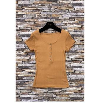 vaatteet Naiset Topit / Puserot Fashion brands HS-2863-BROWN Ruskea