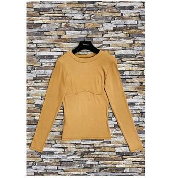vaatteet Naiset Topit / Puserot Fashion brands HD-2813-N-BROWN Ruskea