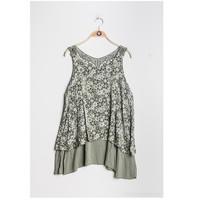 vaatteet Naiset Topit / Puserot Fashion brands 9673-KAKI Khaki