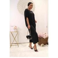 vaatteet Naiset Topit / Puserot Fashion brands 9159-BLACK Musta