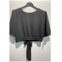 vaatteet Naiset Topit / Puserot Fashion brands 5172-BLACK Musta