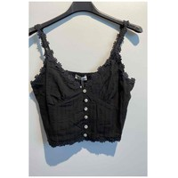 vaatteet Naiset Topit / Puserot Fashion brands 6133-BLACK Musta