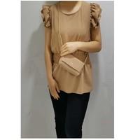 vaatteet Naiset Topit / Puserot Fashion brands 3101-CAMEL Kamelinruskea