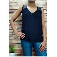 vaatteet Naiset Topit / Puserot Fashion brands 2940-BLACK Musta