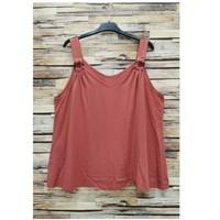 vaatteet Naiset Topit / Puserot Fashion brands 3841-RASPBERRY Vaaleanpunainen