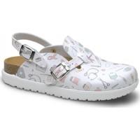 kengät Naiset Puukengät Feliz Caminar Zueco Laboral BIO VEGA - Monivärinen
